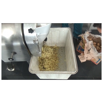 Vegetables cube slice shred cutting machine
