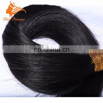 Wholesale Price No Tangle And Shed Free Natural Color Long Straight Remy Human Hair Bundle