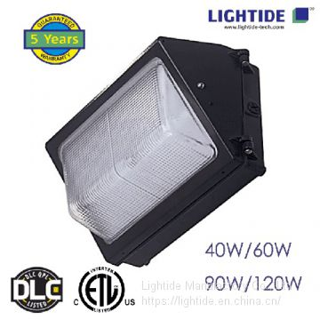 LED Wall Pack Lights-Glass Refractor 60W