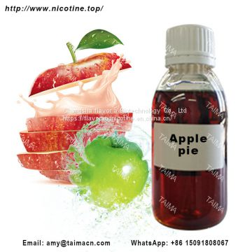Wholesale Apple pie Flavor/ Flavour Concentrated Fruit Flavour Liquid for e liquid
