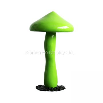 Ho display Custom Alice's Adventures in Wonderland Mushroom Fiberglass Giant Plant