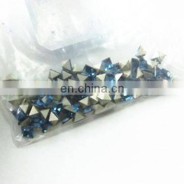 Small Size Square Crystal Rhinestone Point back Top Quality Wholesale