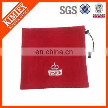 wholesale plain polor fleece fashion custom neck gaiter