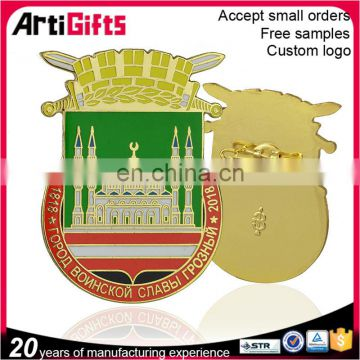 Wholesale cheap Custom Metal Pin Badge with your own design