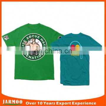 Promotion events customized fashion company t shirt designs