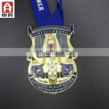 Top sell die casting wholesale cheap custom medal custom finisher medals