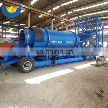 High Efficiency Gold Scrubber Trommel for Sale
