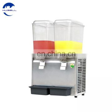 Commercial 18L*2Tank Frozen Hot Cold Drink Beverage Milk Juice Dispenser Machine Drink Chiller
