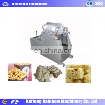 Factory Price Automatic air industrial popcorn making rice production puffed corn snack machine