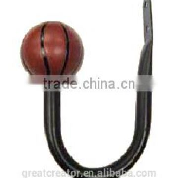 Great Creator Basketball AccessoriesCurtain Holdbacks Curtain Hooks For Matching Kids Rods