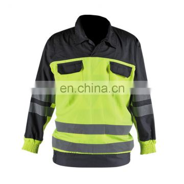 Hi-vis safety long sleeves shirt
