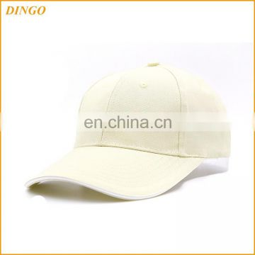 Custom embroidery plaid blank fitted nylon baseball cap