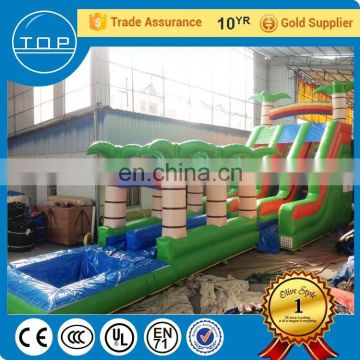 Trade Assurance floating park inflatable igloo kids water slides for sale with EN14960