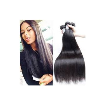 Durable Healthy No Chemical Body Wave Peruvian Human Hair Indian 10inch