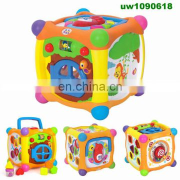 Baby's First Blocks ,Shape Sorting Cube,Baby Turn and Learn Cube