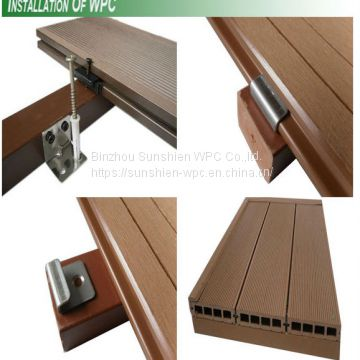 Sunshien WPC wall panel from water proof material for outdoor usage