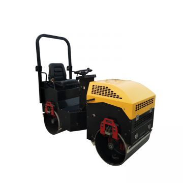 2t Double Smooth Drum Road Construction Machinery