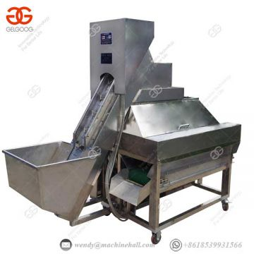 Fruit And Vegetable Processing Device 70-80 Pcs/minute Industrial Fruit Peeling Machine