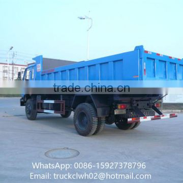 8-10 Cubic Meters Volume Tipper Box Truck Tipper With Capacity 7 ton