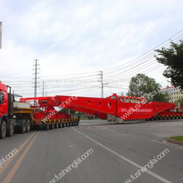 Hydraulic trailer,  Modular trailer,  Heady duty trailer