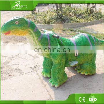 KAWAH Wholesale Amusment Park Kids Ride on Electric Cars Toy for Wholesale Children Dinosaur Ride