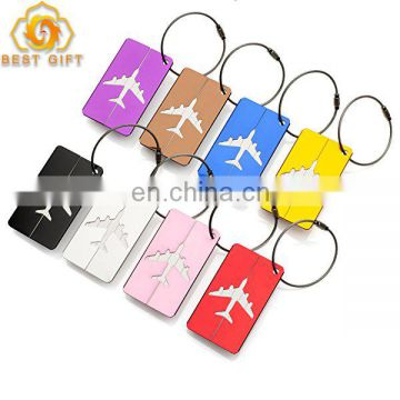 Manufacturer Personalized Stainless Steel Luggage Tags