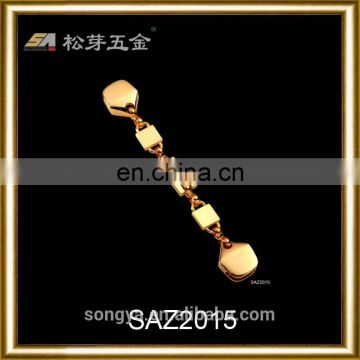Custom Plated Metal Chain For Handbag, Pretty Quality Gold Zinc Alloy Purse Chain