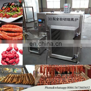 Industrial sausage meat smoker machine/meat smoking machine/meat smoke oven for sale