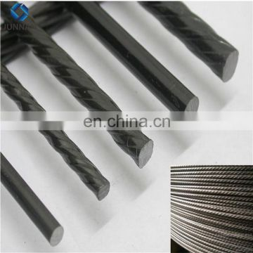 Building material high tensile 1860mpa 4.0mm-9mm  prestress pc strand wire