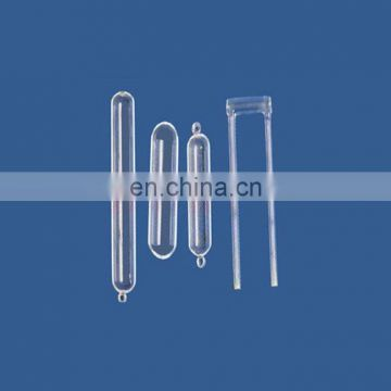 YM-12 High Quality Clear Quartz Wafer Carrier Boat