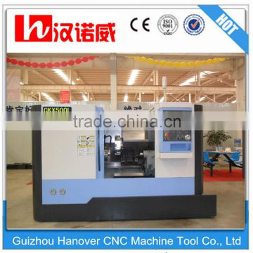 CKX500L slant bed cnc machine tools of higher speed,higher precision,higher reliability 10'' hydraulic chuck servo spindle motor