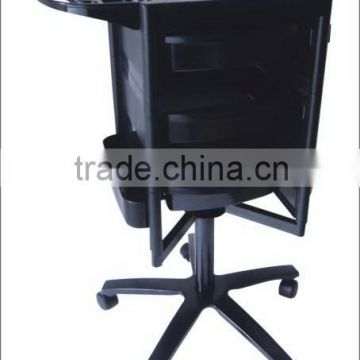 easy portable and movable salon trolley HZ2005/best selling salon trolley