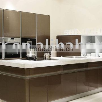 Kitchen Cabinet Buy Factory Price High Gloss Dark Grey Kitchen Cabinet Mgk 1006 On China Suppliers Mobile 134338345