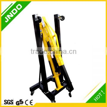 FOLDING CHERRY PICKER HOIST FLOOR CRANE