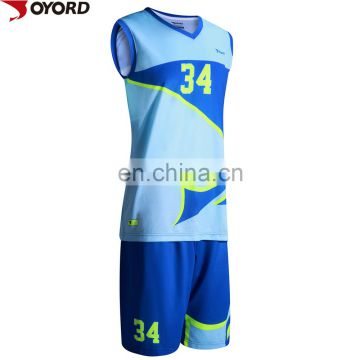 2017 basketball jersey design custom basketball jersey with low MOQ