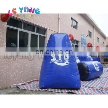 Tactical Shape Inflatable Paintball Bunker For Shooting tag Game