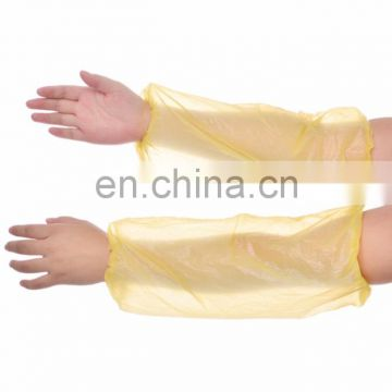 Cheap and Environmental Disposable PE Waterproof oversleeves / Arm Sleeves