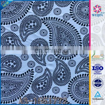 New Design Print Knit Fashion nylon spandex Fabric