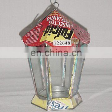 Recycled Tin Lantern