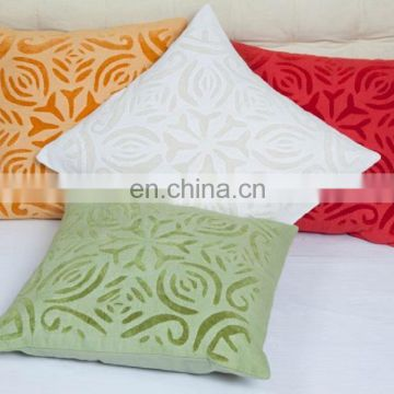 100% cotton high quality cushion cover wholesale, cushion cover