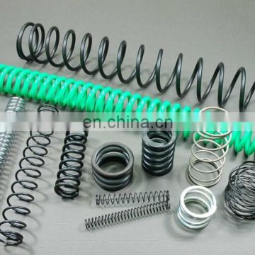 Different type sundry electronic plated surface tension coil springs