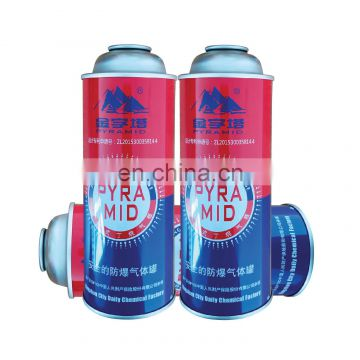 Hebei empty butane gas canister and aerosol can accessories