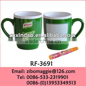Belly Shape Colored Porcelain Knorr Designed Promotion Coffee Carton Cup