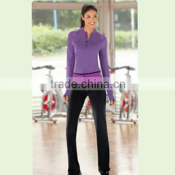 New arriving long style pants ladies training and cycling by bicycle sports wear