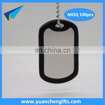 Customized Cheap Aluminum Metal Dog Tag engraved dog tags