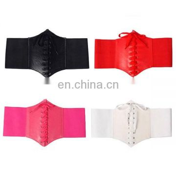 7d15416665 2017 Women Fashion 5 Color Waist Corset Belt Wide Band Elastic Tied Belt of  Belt from China Suppliers - 158666240