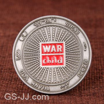 War Child Challenge Coin