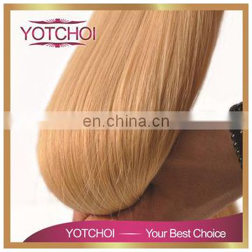 Yotchoi Raw Blonde Natural Virgin Russian Hair Wholesale Accept Paypal Russian Hair Extensions