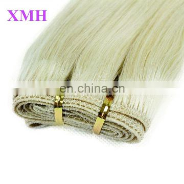 10A Grade 613 Blond Hair Extension, Natural Russian Human Hair for Braiding