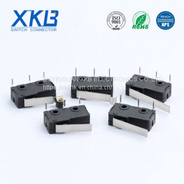 Normally closed/open 5A 9.8x10.6x6.3 D type micro switch for sale